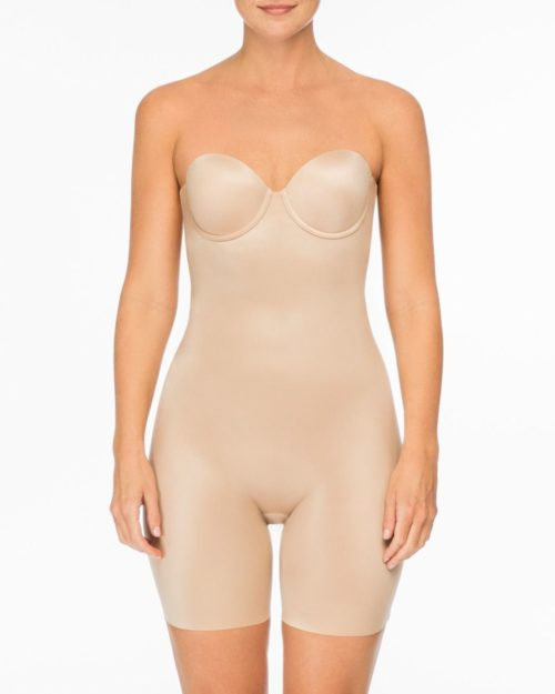 Strapless Cupped Bodysuit